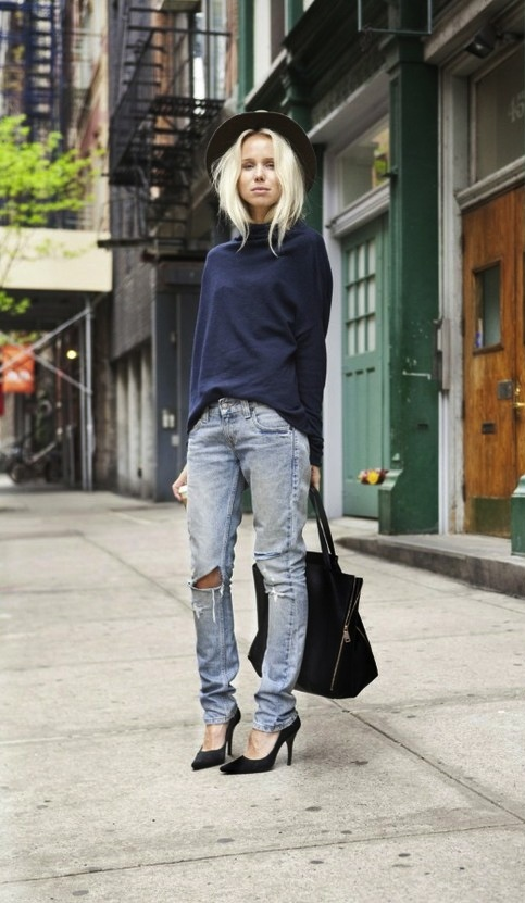 Sharp As Blaydes: street style inspiration: denim - 4 ways