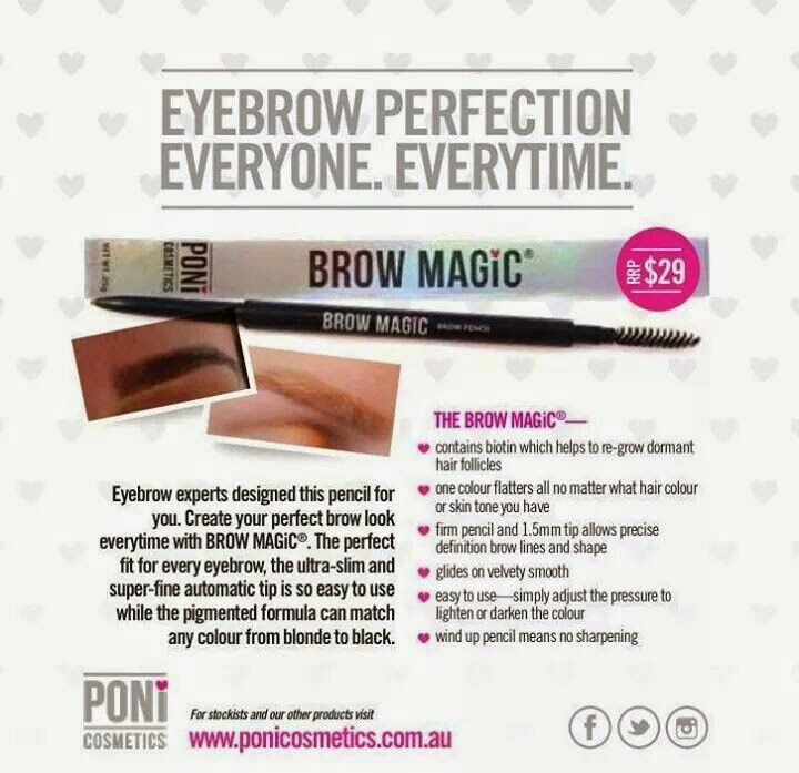 Brow Magic by Poni Cosmetics