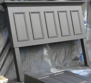 diy king size headboard | panel door converted into a king size headboard | DIY & Crafts