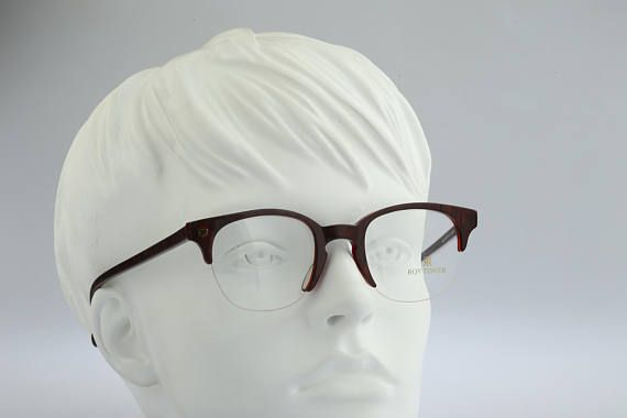 Roy Tower Preppy 19 2961 Vintage clubmaster eyeglasses 90s