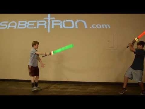 Sabertron sword play with an Arduino Fio