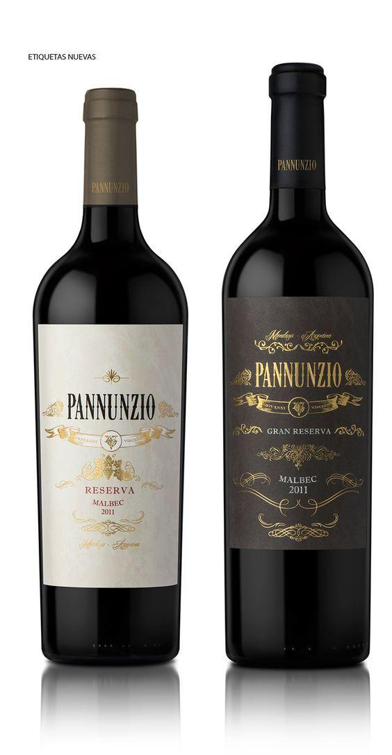 Diseño Etiqueta de Vino / Wine label Design PANNUNZIO: