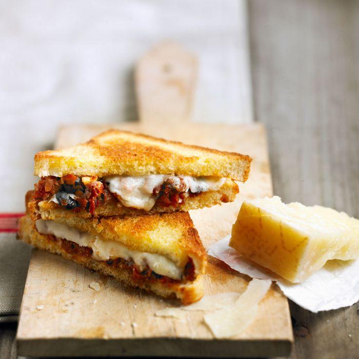 Rien de tel qu'un sandwich tout chaud pour égayer les repas familiaux.  Craquez pour nos recettes croquantes, fondantes et créatives.