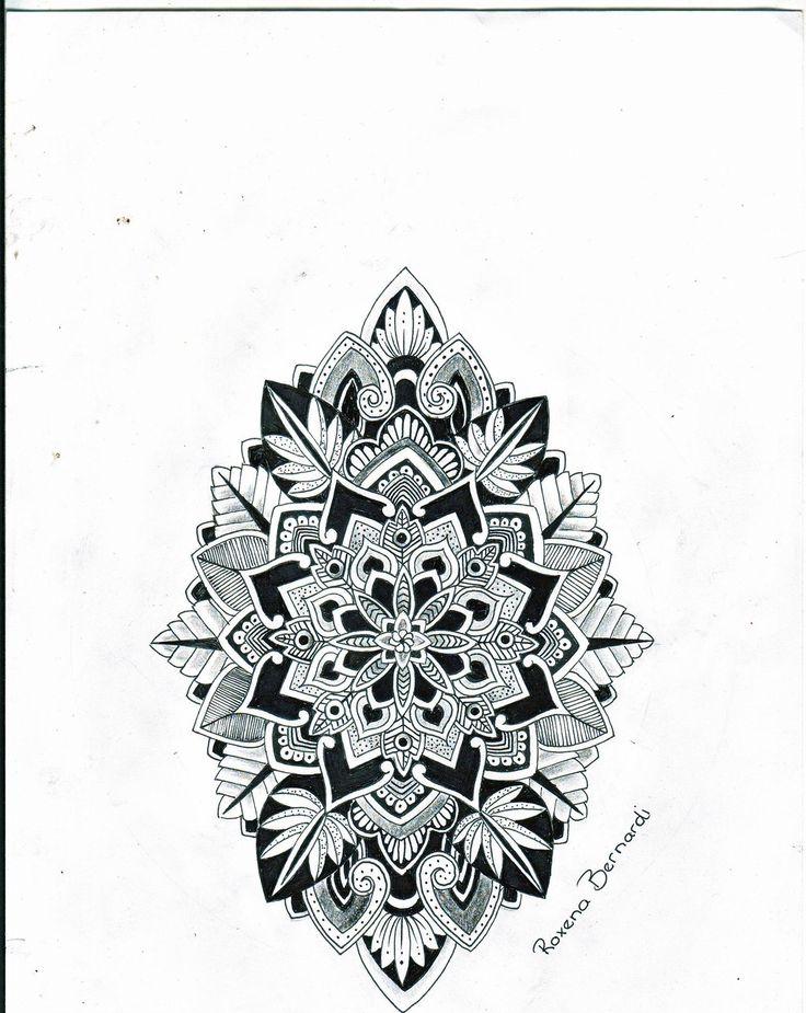 #Mandala tattoo http://tattoo-ideas.us