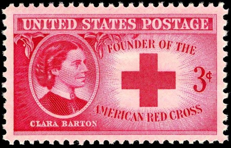 Clara Barton Helping Soldiers. Founder of The Red Cross form Dansville, NY