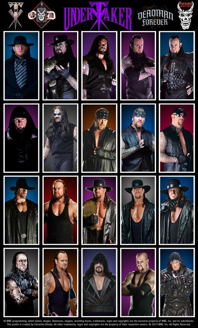 The Undertaker Poster by Chirantha