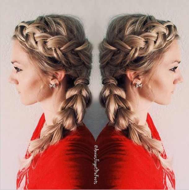 13 Combo Cool Braided Hairstyles You Will Love - Be Modish - Be Modish
