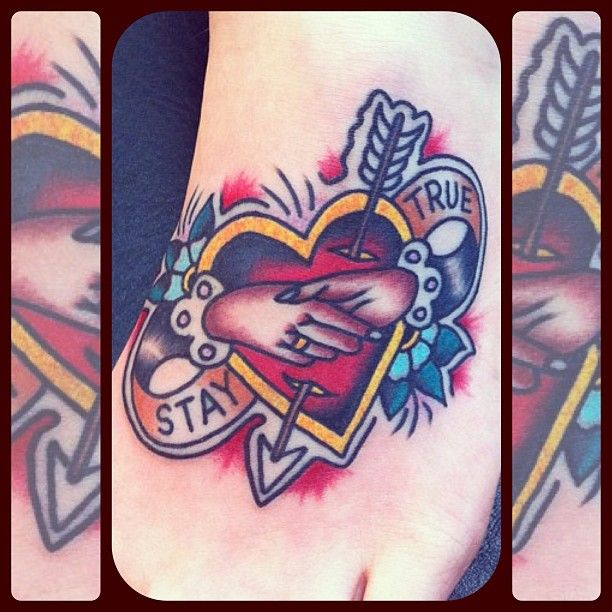.@forevertruetattoo | Stay True tattoo by Richie Clarke