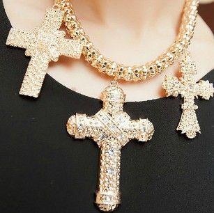 fashion punk mode-kleding en accessoires metalen ketting gouden choker kettingen vrouwen sieraden groothandel Verklaring Kettingen