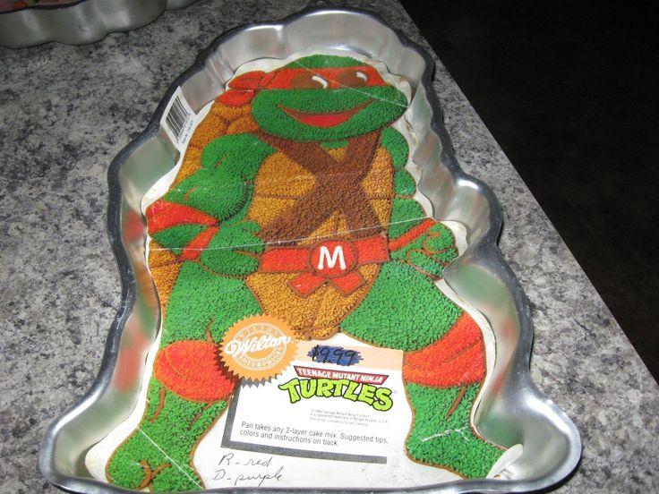 Tmnt Cake Pan Instructions