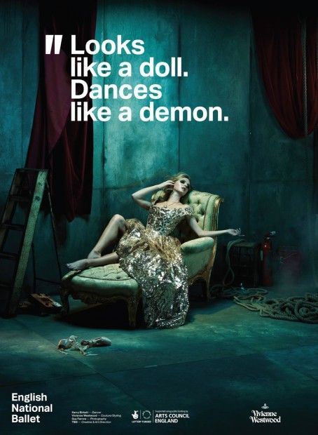 Looks like a doll. Dances like a demon | Vivienne Westwood for English National Ballet