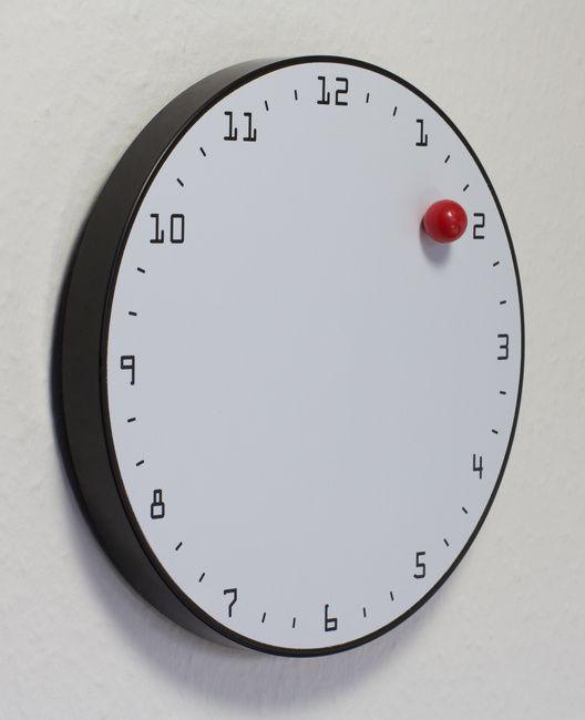 clock wall magnetic ball blank wall clock frei