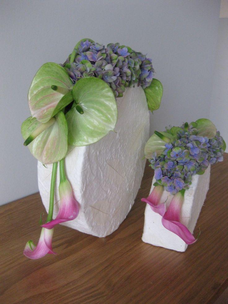 Het Bladmotief - Cursussen hedendaags bloemschikken | Themaworkshops - Petra…