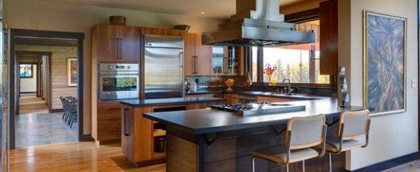 17 Beautiful Contemporary U-Shaped Kitchen Layouts via @homedesignlover