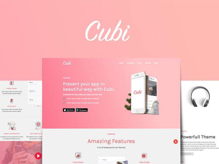 Cubi – Free HTML template
