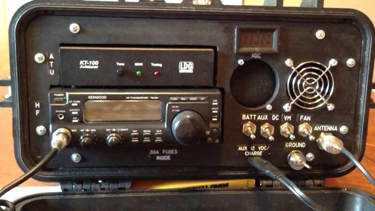Portable HF radio ts-50s pelican case go box
