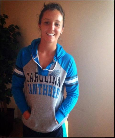Ready for the Panthers vs Saints game. Let's go Carolina!!!