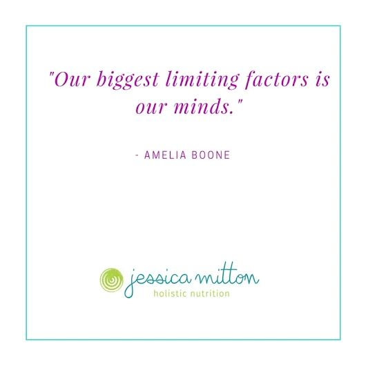 """Our biggest limiting factor is our minds."" - Amelia Boone"