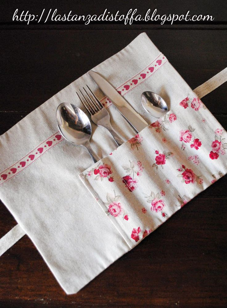 Portaposate Country Chic - handmade with love