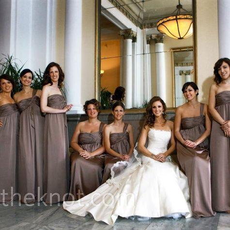Dark Orange Bridesmaid Dresses   Wedding Dresses Engagement Rings Bridesmaid Dresses Wedding Rings ...
