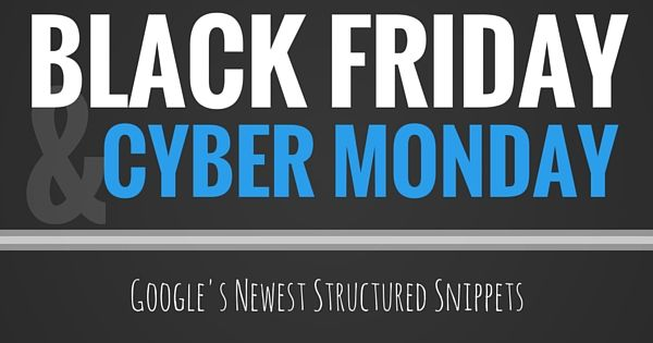 Learn about the newest feature that #Google released for #BlackFriday & #CyberMonday.