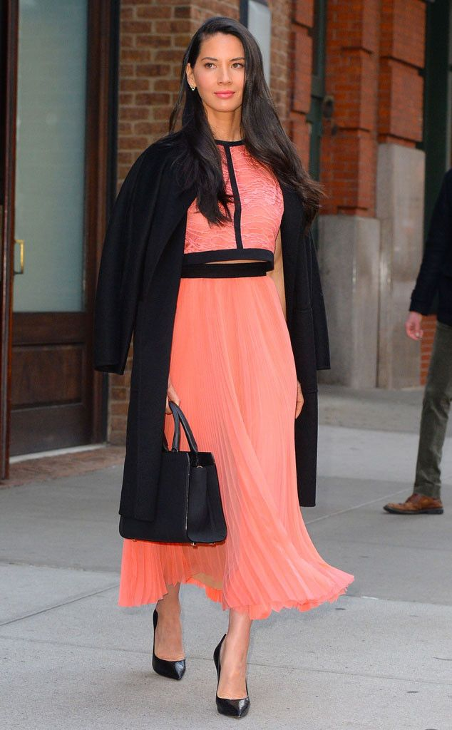 Olivia Munn from The Big Picture: Today's Hot Pics Pretty in pink: The Ride Along 2 actress is spotted in NYC.