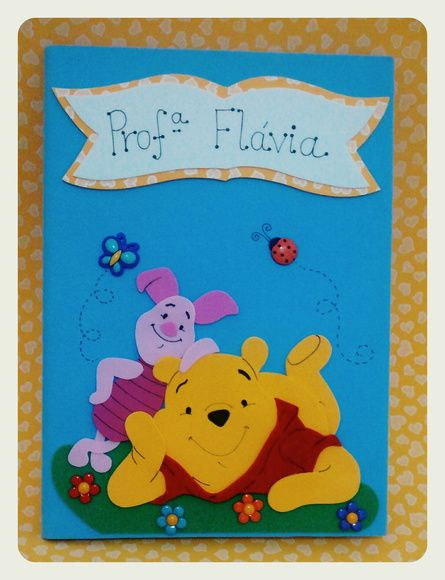 Caderno Ursinho Pooh