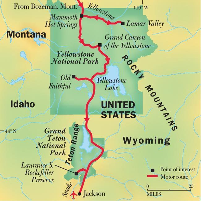 Best Yellowstone National Park Trip Images On Pinterest - Yellowstone park us map
