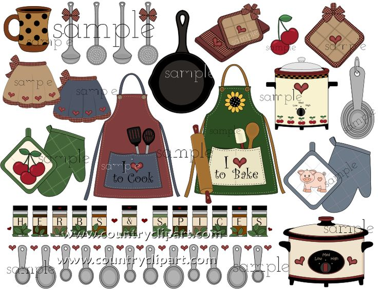 kitchen baking cooking clipart sample 3 in the club