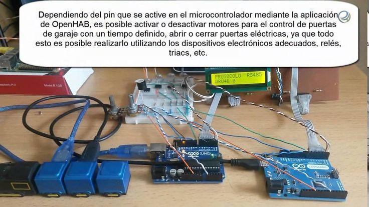 awesome Raspberry PI 2 - OpenHAB - Arduino - RS485 Check more at http://gadgetsnetworks.com/raspberry-pi-2-openhab-arduino-rs485/