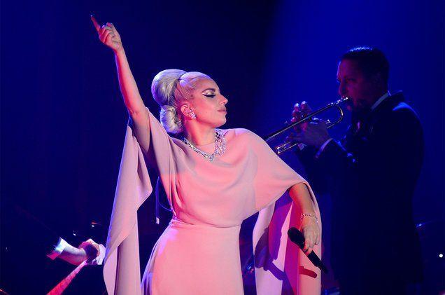 Lady Gaga performing at Milk Studios, LA, by Kevin Tachman ~ billboard