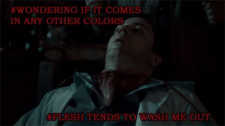 It's called a Colombian Necktie… (nbchannibal)