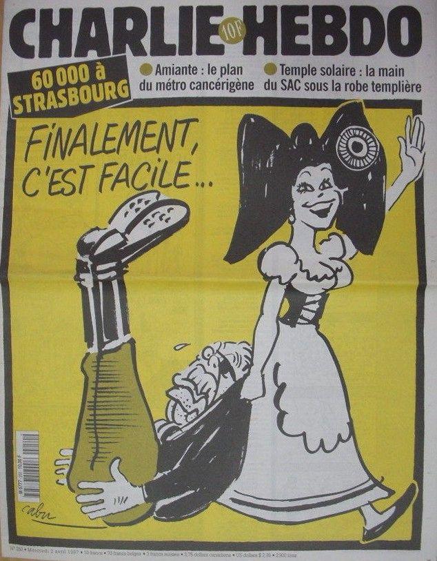 Charlie Hebdo - # 250 - 2 Avril 1997 - Couverture : Cabu