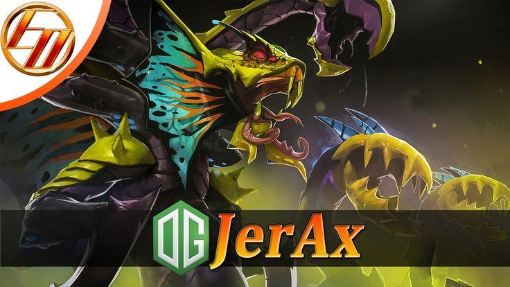 OG.JerAx  Venomancer  Dota 2 Pro Gameplay | Team OG