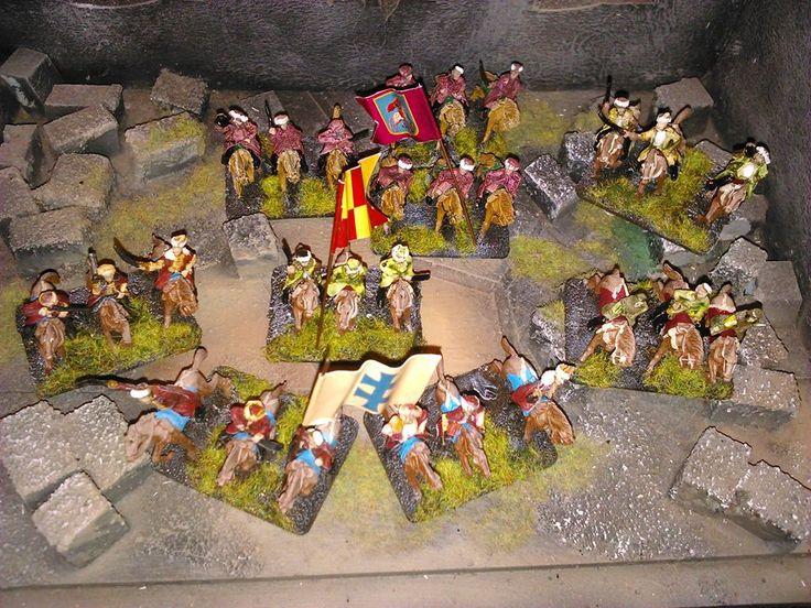 Desari miniatures painting: Ogniem i Mieczem - 15 mm scale - painted by Desari...