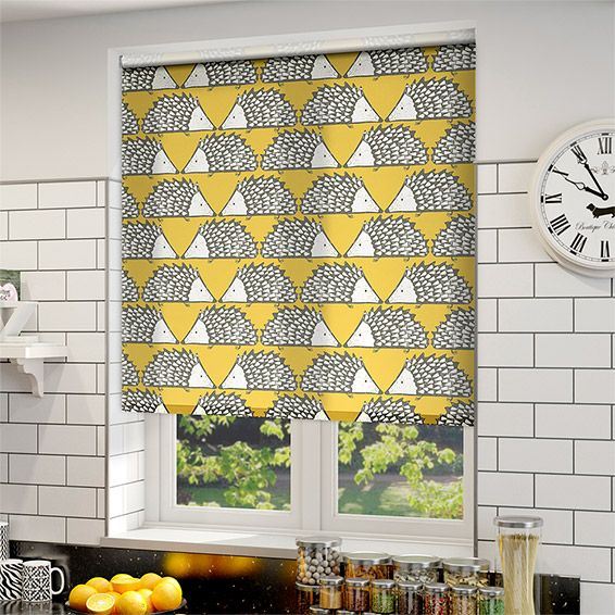 Beautiful Spike Honey Roller Blind. Kitchen BlindsKitchen DiningYellow ...