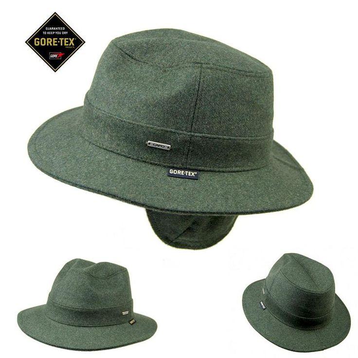 Sombrero orejera goretex verde