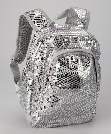 Take a look at this Silver Sequins Forever Mini Backpack by Skechers Backpacks on #zulily today!