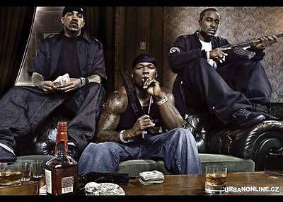 50 Cent & G-Unit Music Videos Hip-Hop & R&B (5 DVD's) 131 Music Videos