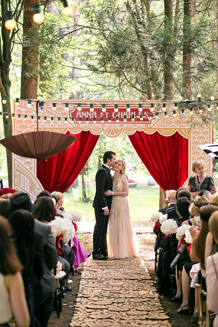 Circus And Carnival Wedding Ideas