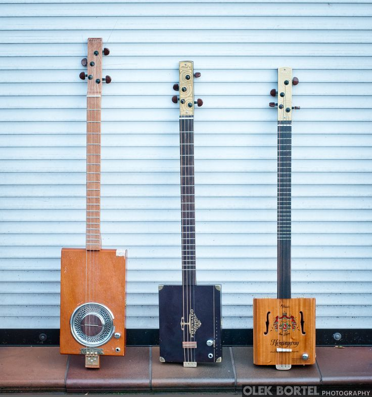 cigar box guitars - MIku 4 Lemon Resonator, Miku 4  #0018, Miku 4 Quartertone