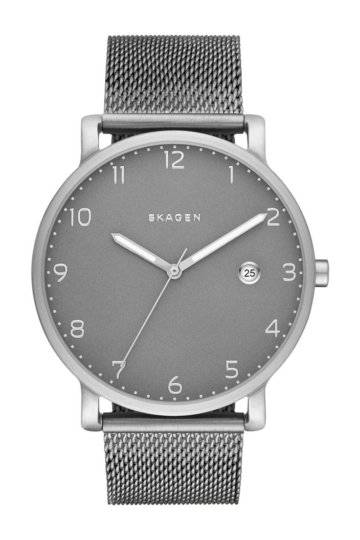 Men's Hagen Mesh Bracelet Watch by Skagen on @nordstrom_rack
