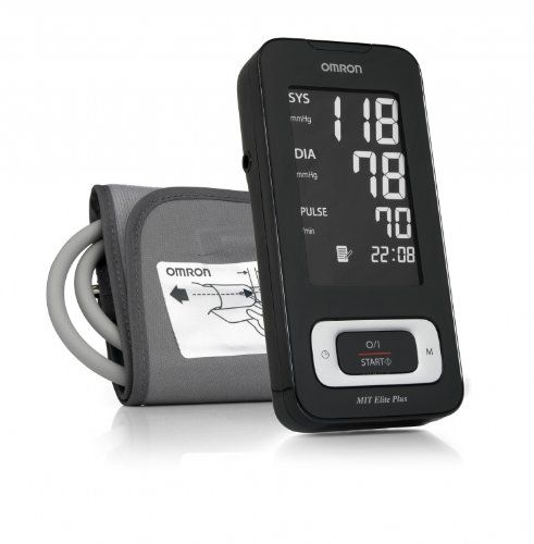 Omron MIT Elite Plus Upper Arm Blood Pressure Monitor with Download Facility: Amazon.co.uk: Health & Personal Care