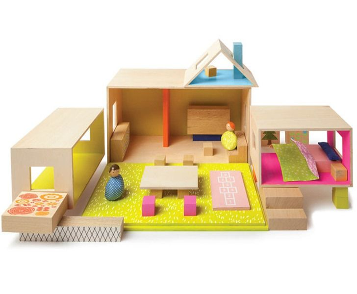 Mio Offers Beautiful Affordable And Modern Wooden Dollhouses Packed With Features