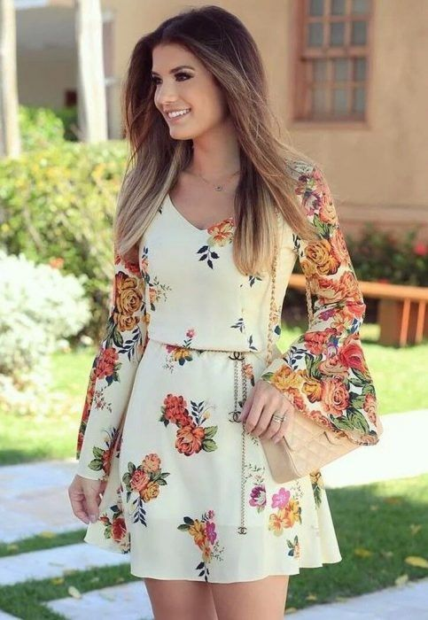 Vestidos de dama casuales 2019