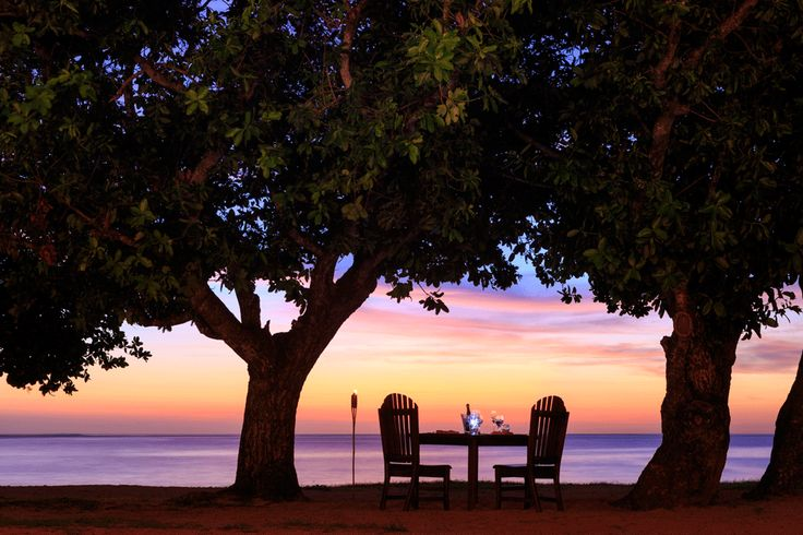 Sunset ambience at Yatule Resort and Spa.