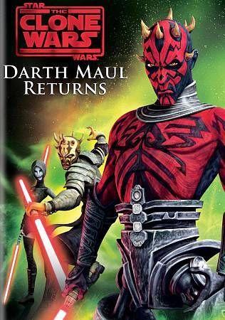 STAR WARS THE CLONE WARS - DARTH MAUL RETURNS (DVD, 2013)