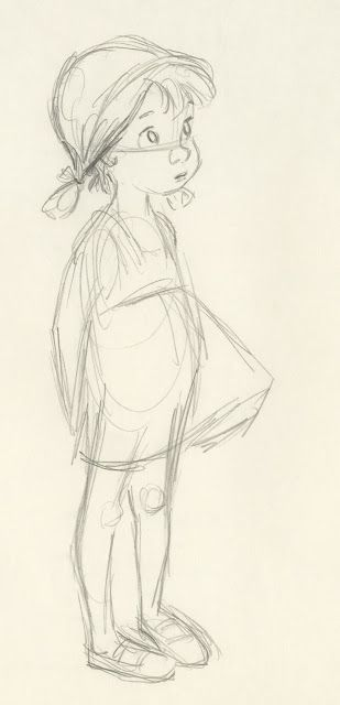 Deja View: Milt Kahl Drawings of Penny