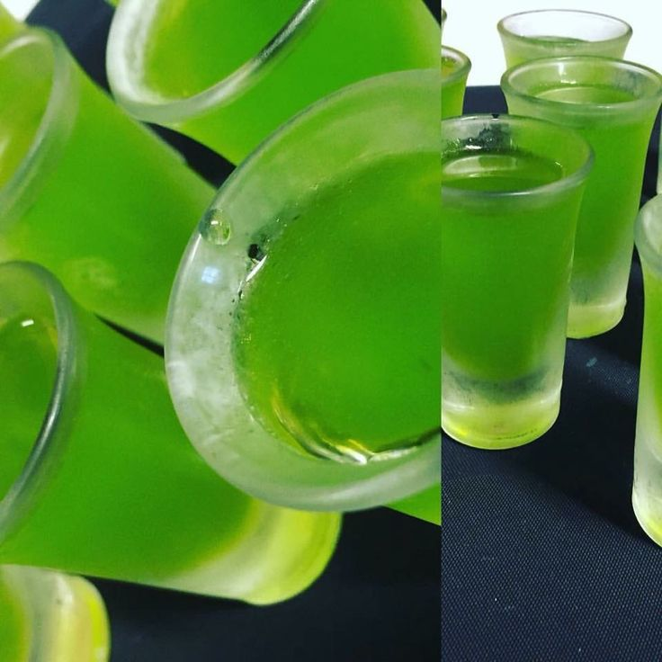 Midori & Lime Pallet Cleanser, prepared as part of a 12 course Degustation