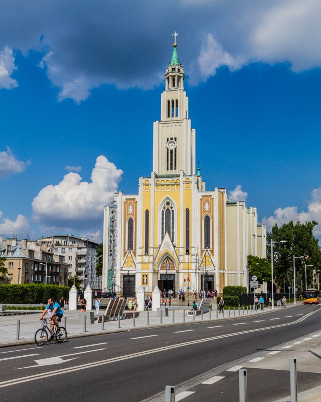 The Purest Heart of Mary Church, Grochow district, Warsaw, Poland